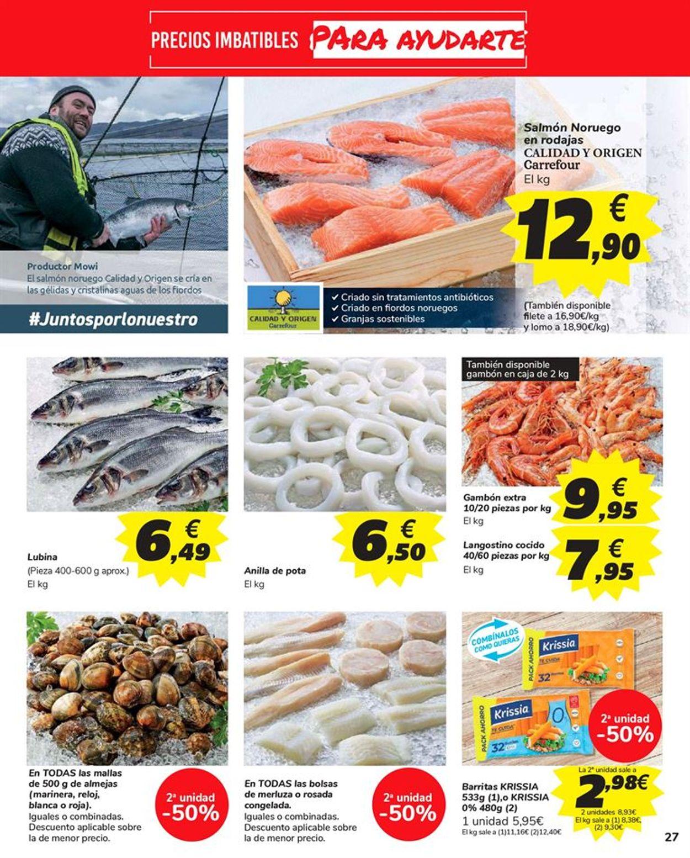 Carrefour 2x1 2021 Folleto - 15.01-27.01.2021 (Página 27)