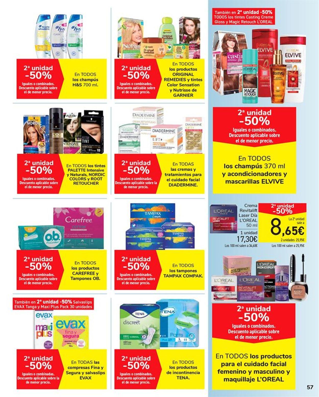 Carrefour 2x1 2021 Folleto - 15.01-27.01.2021 (Página 57)