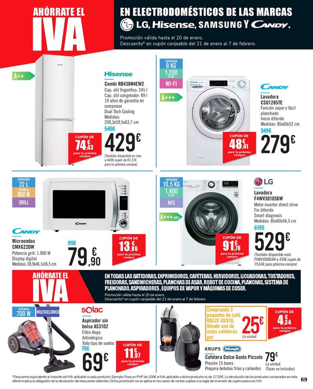 Carrefour 2x1 2021 Folleto - 15.01-27.01.2021 (Página 69)