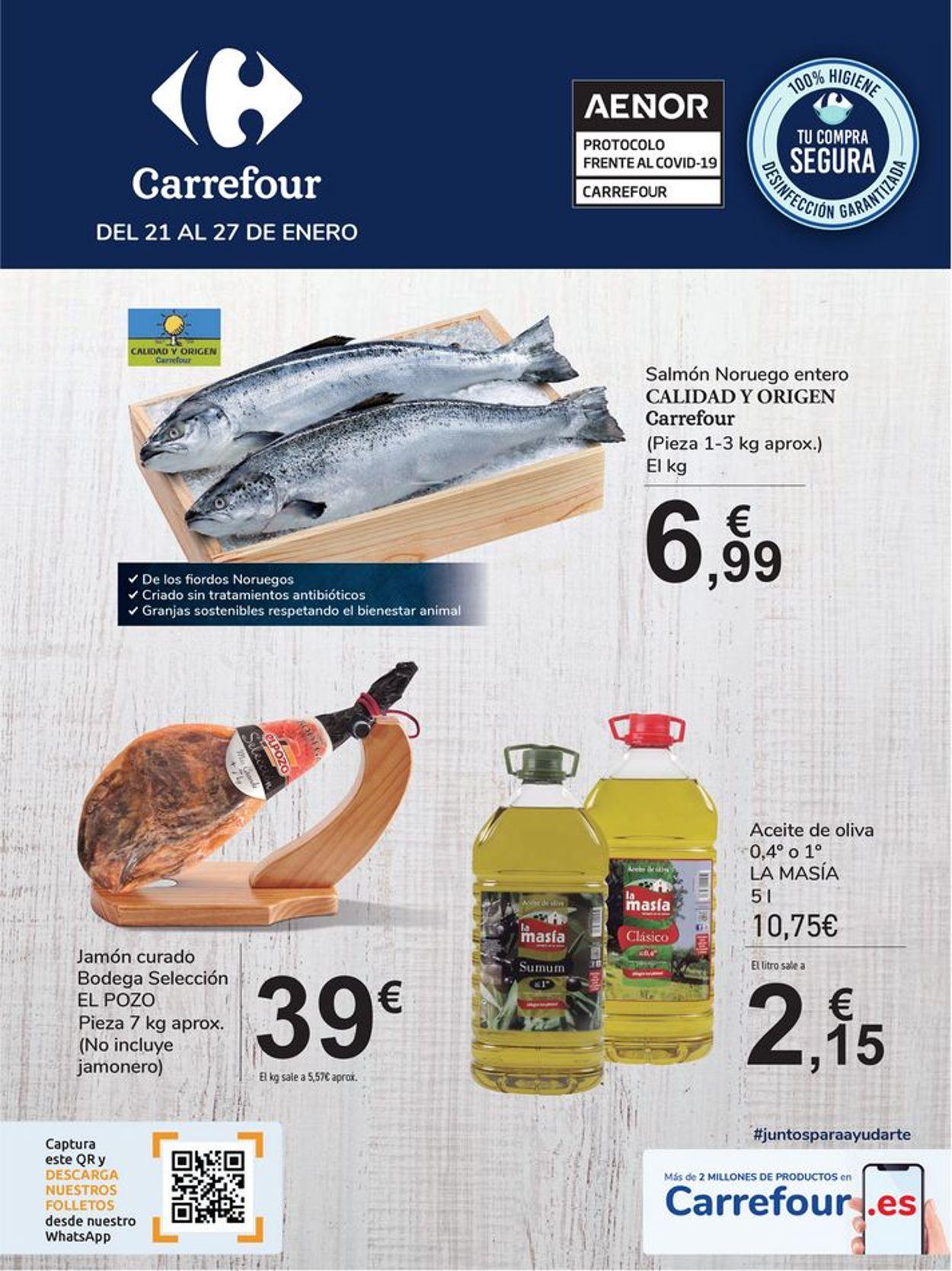 Carrefour Folleto - 21.01-27.01.2021