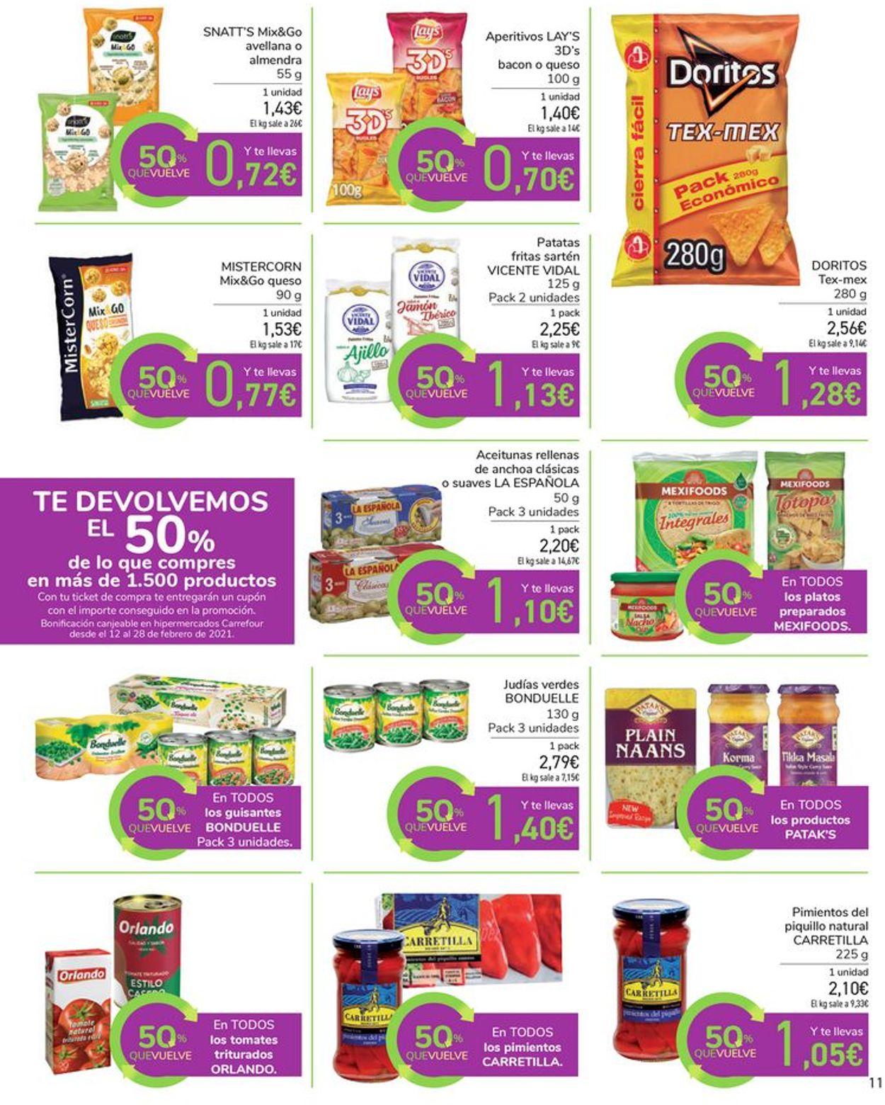 Carrefour Folleto - 28.01-11.02.2021 (Página 11)