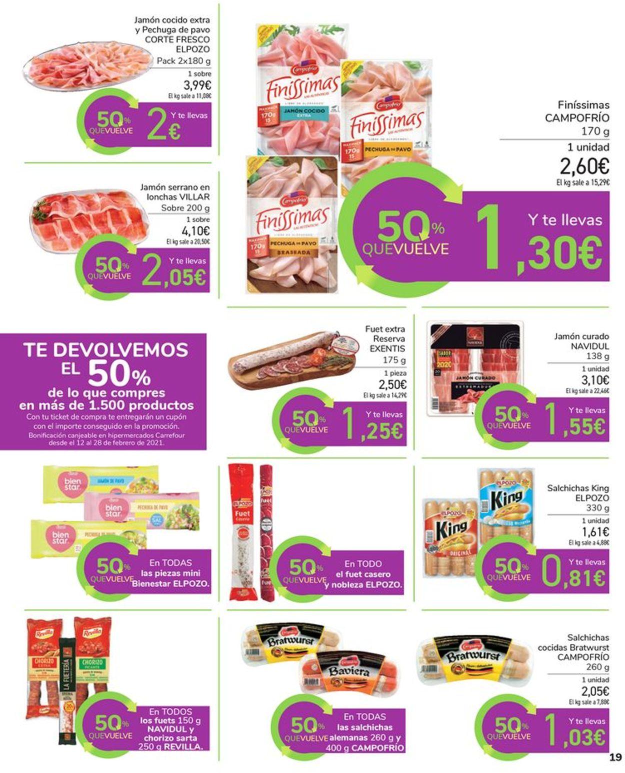 Carrefour Folleto - 28.01-11.02.2021 (Página 19)