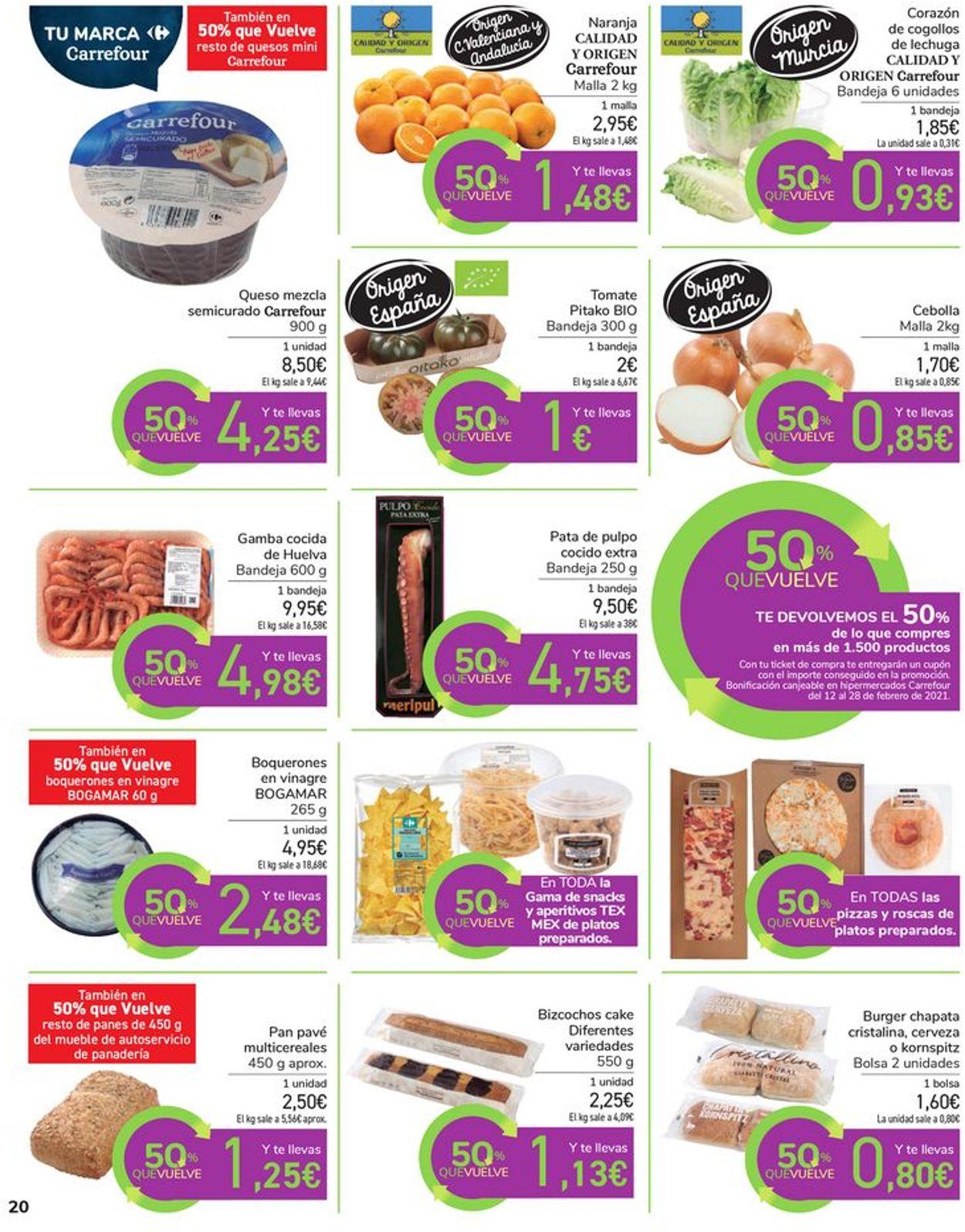 Carrefour Folleto - 28.01-11.02.2021 (Página 20)