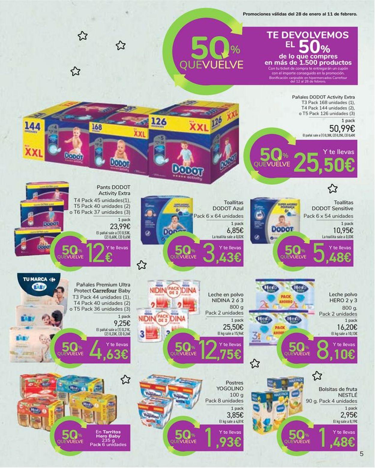 Carrefour Bebé 2021 Folleto - 29.01-22.02.2021 (Página 5)
