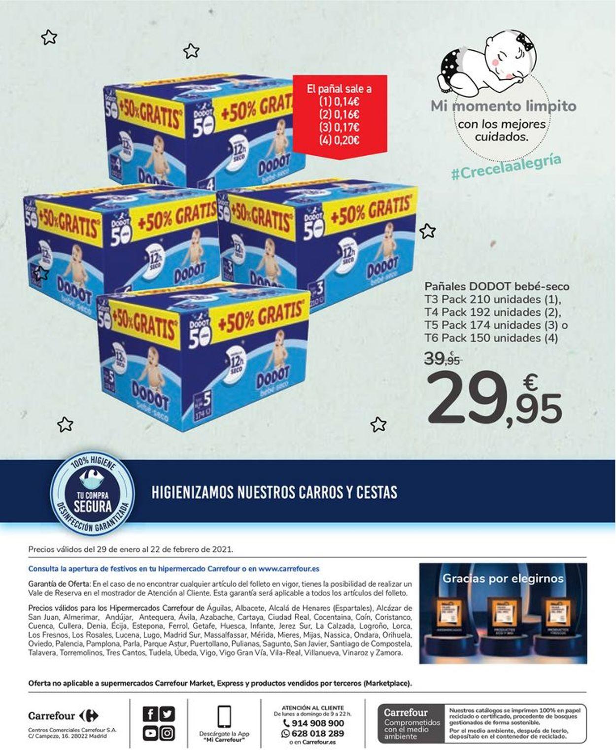 Carrefour Bebé 2021 Folleto - 29.01-22.02.2021 (Página 28)