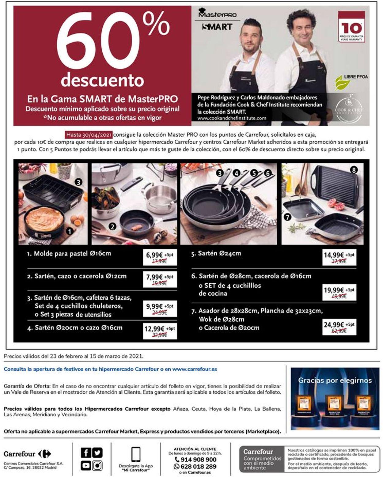 Carrefour Folleto - 23.02-15.03.2021 (Página 14)