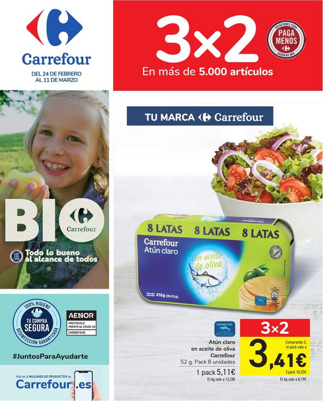 Carrefour Folleto - 24.02-11.03.2021