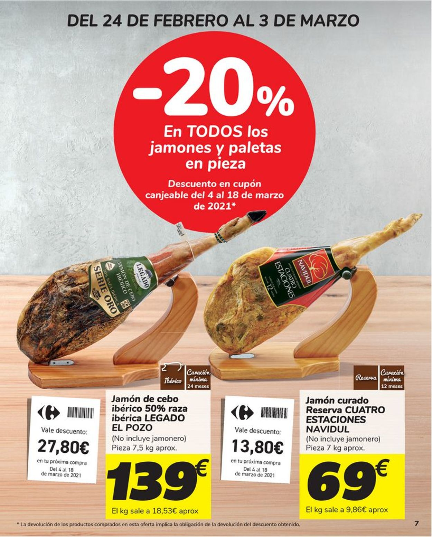Carrefour Folleto - 24.02-11.03.2021 (Página 7)