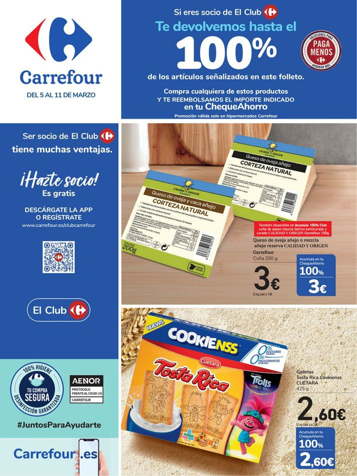 Carrefour Folleto - 05.03-11.03.2021