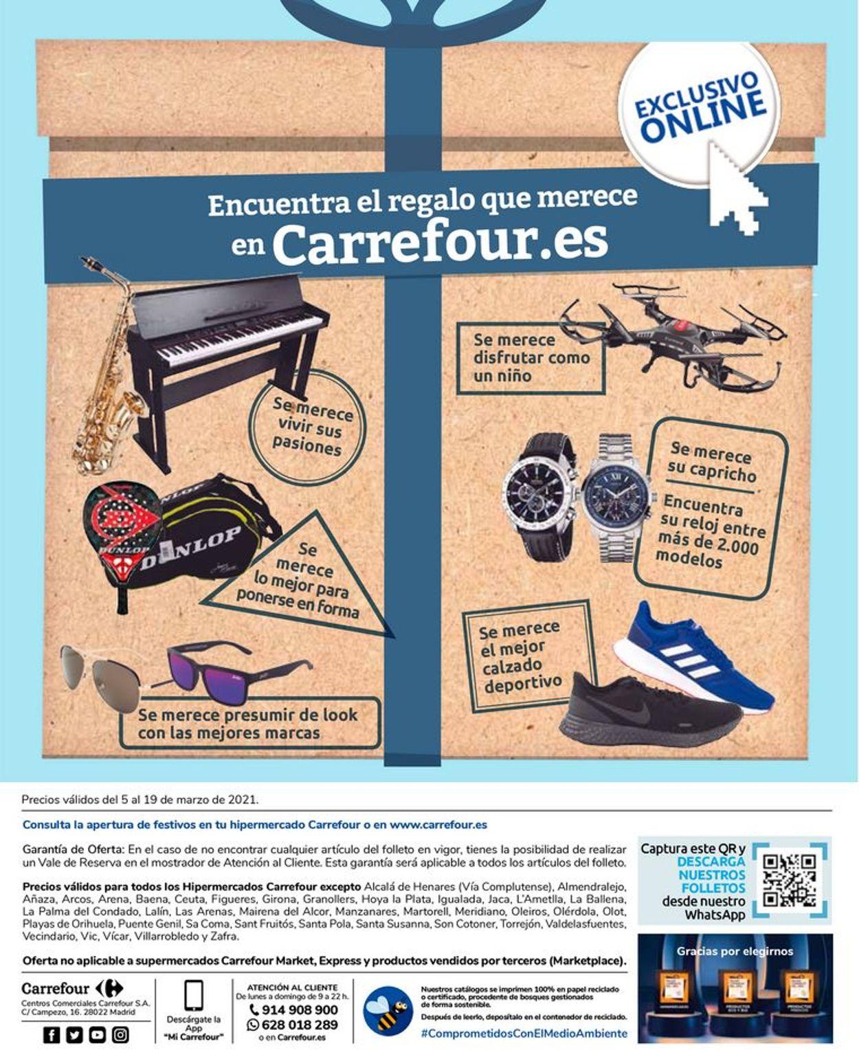 Carrefour Folleto - 05.03-19.03.2021 (Página 28)