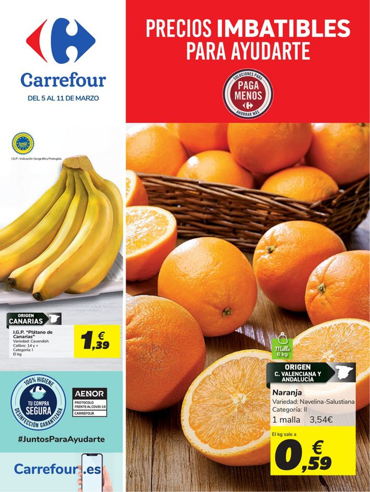 Carrefour Folleto - 05.03-11.03.2021
