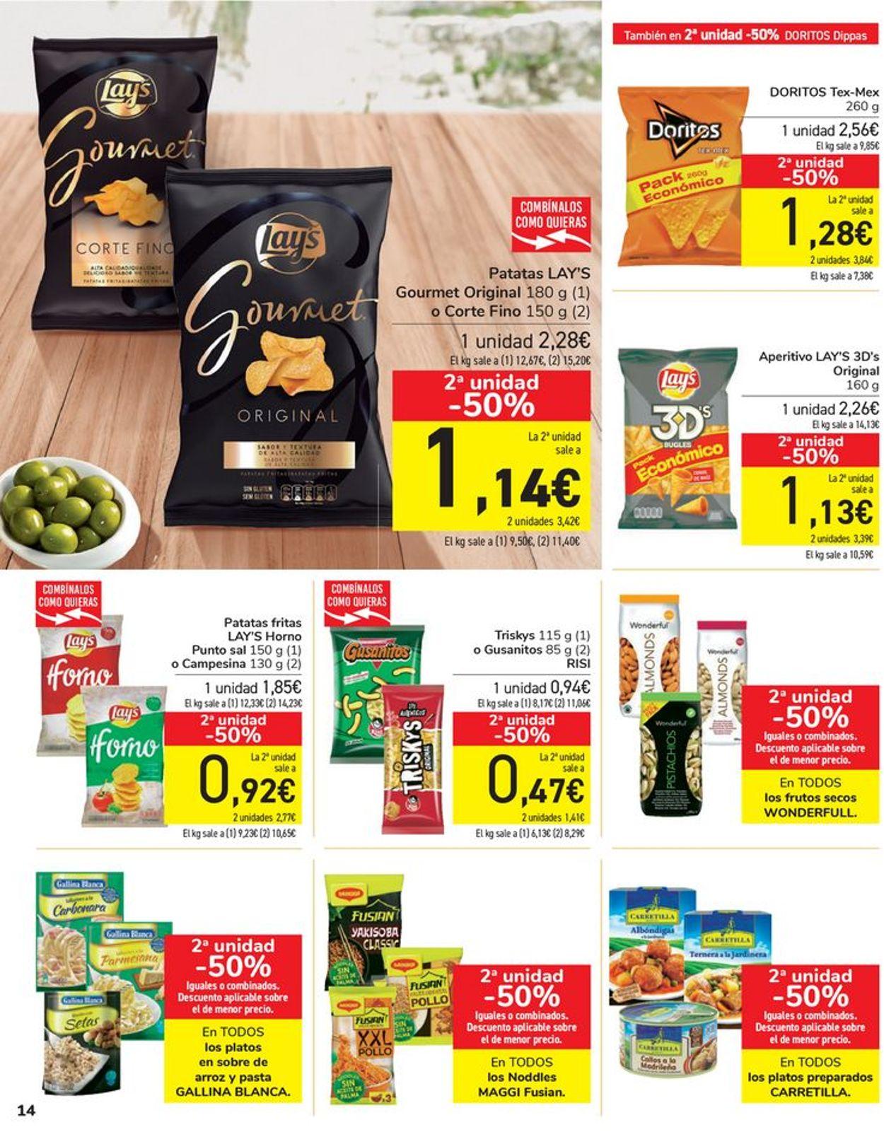Carrefour Folleto - 12.03-23.03.2021 (Página 14)