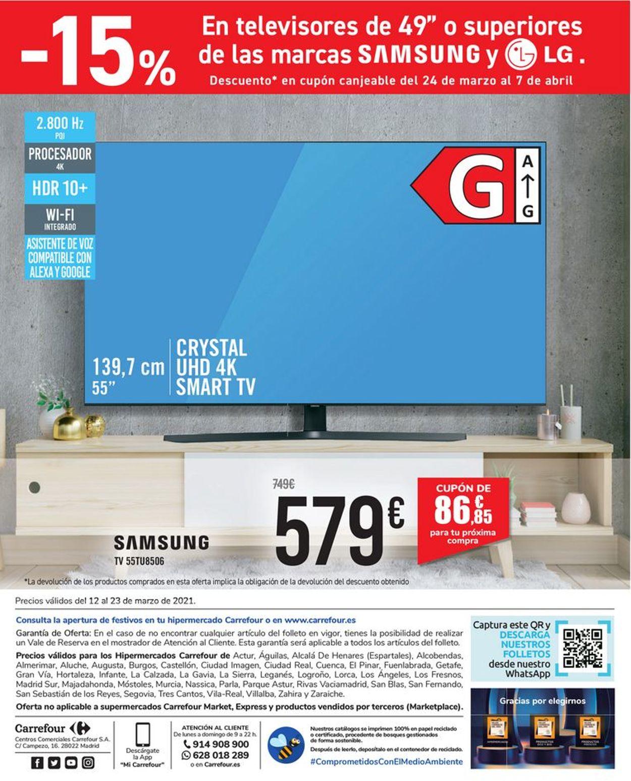 Carrefour Folleto - 12.03-23.03.2021 (Página 58)