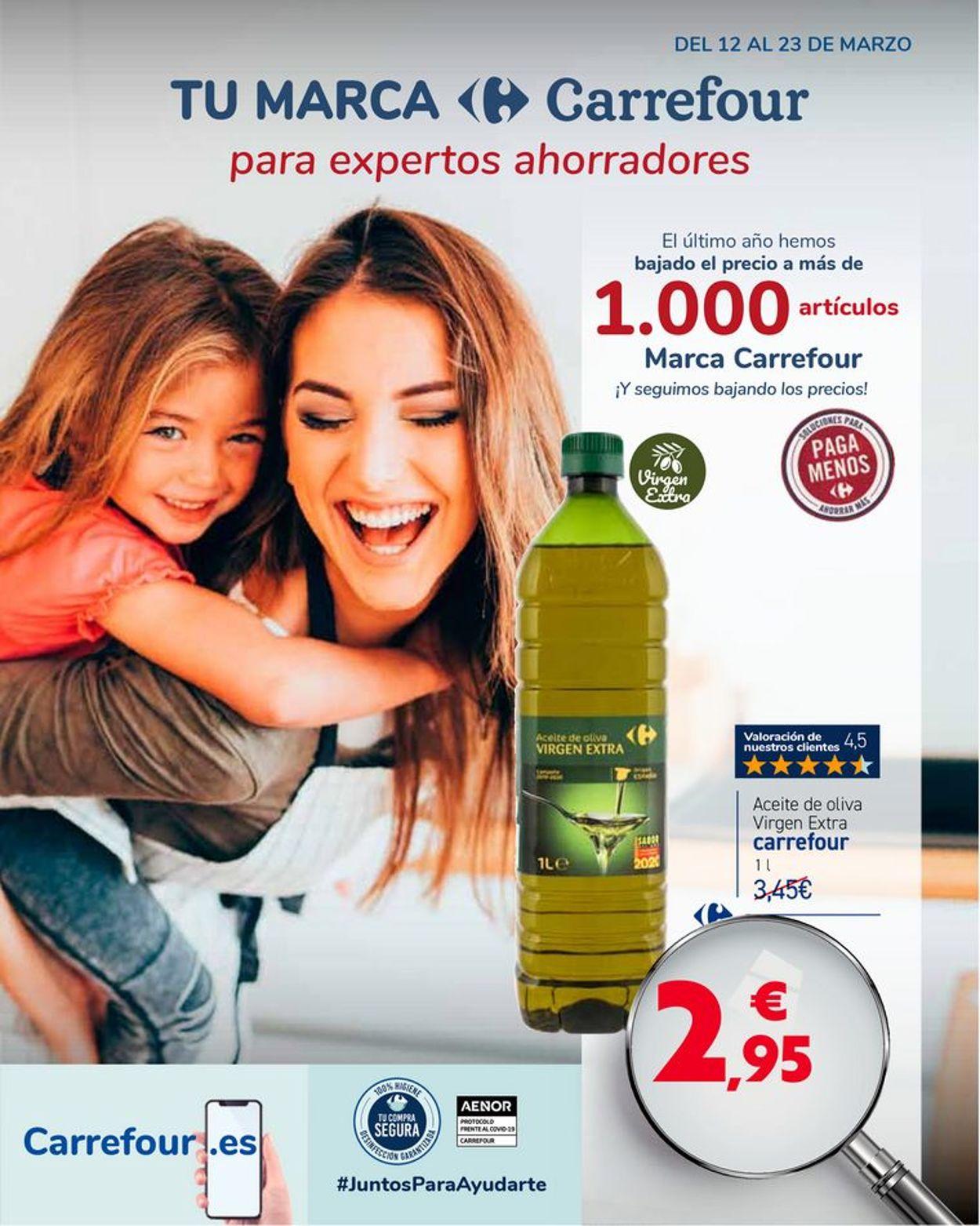 Carrefour Folleto - 12.03-23.03.2021