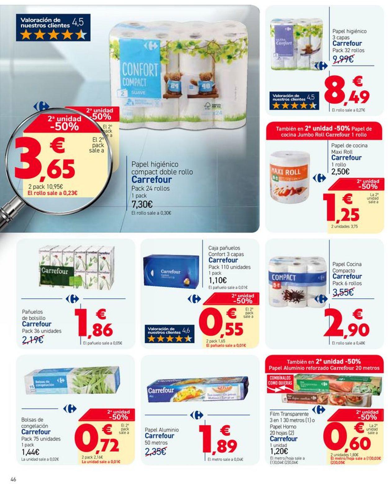 Carrefour Folleto - 12.03-23.03.2021 (Página 46)