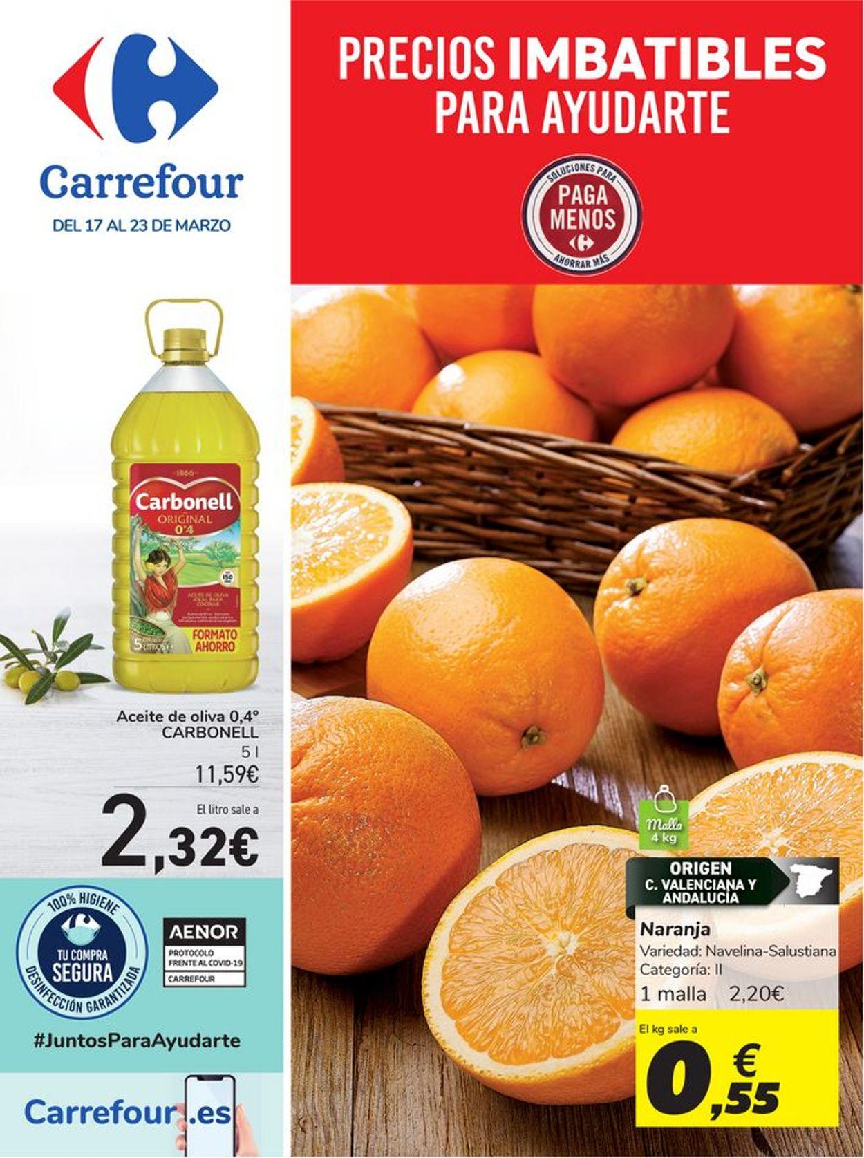 Carrefour Folleto - 17.03-23.03.2021