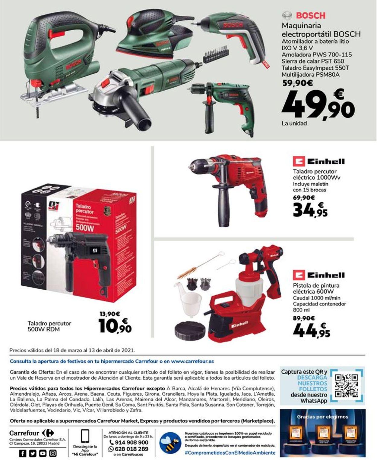 Carrefour Folleto - 18.03-13.04.2021 (Página 23)