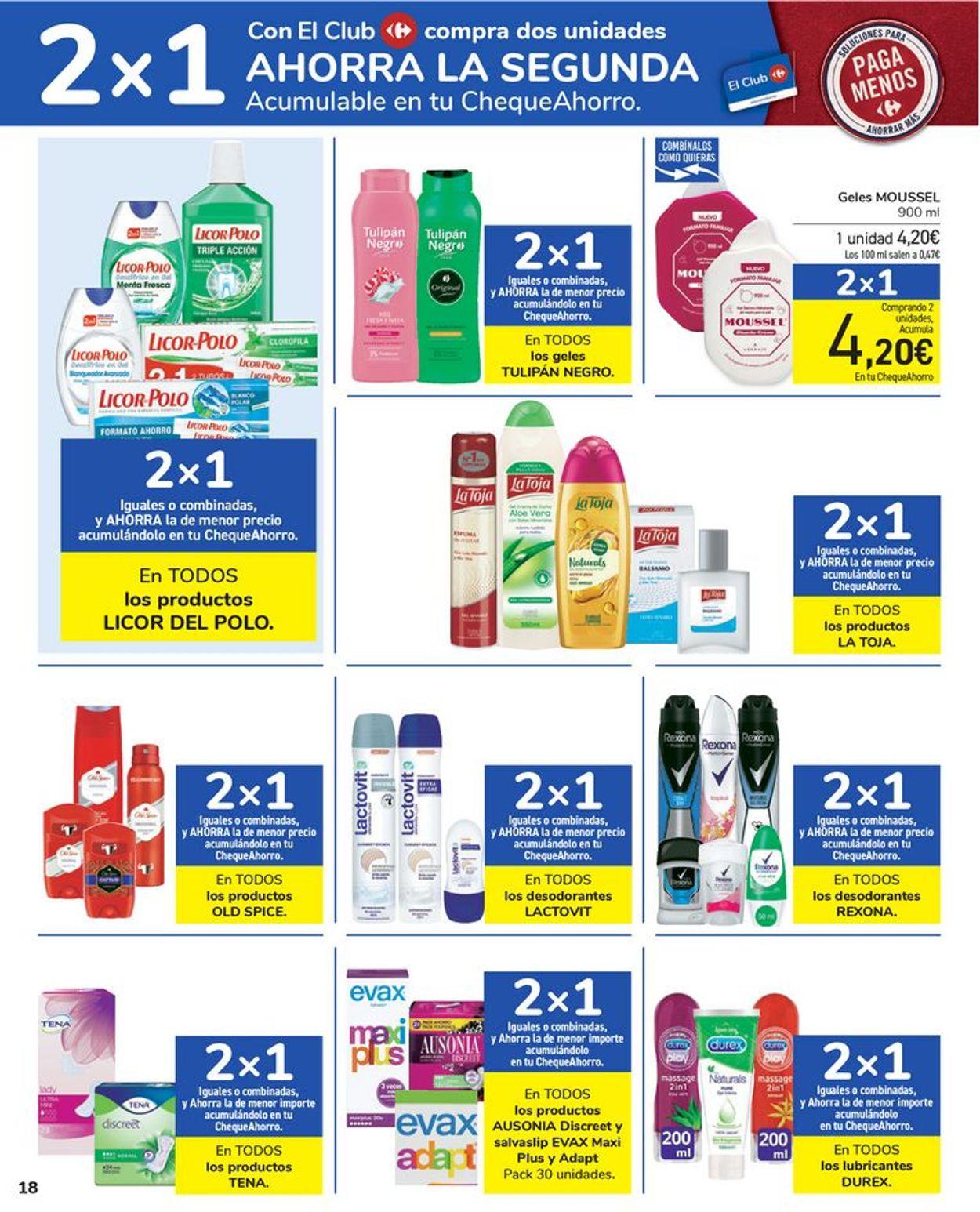 Carrefour Folleto - 24.03-05.04.2021 (Página 18)
