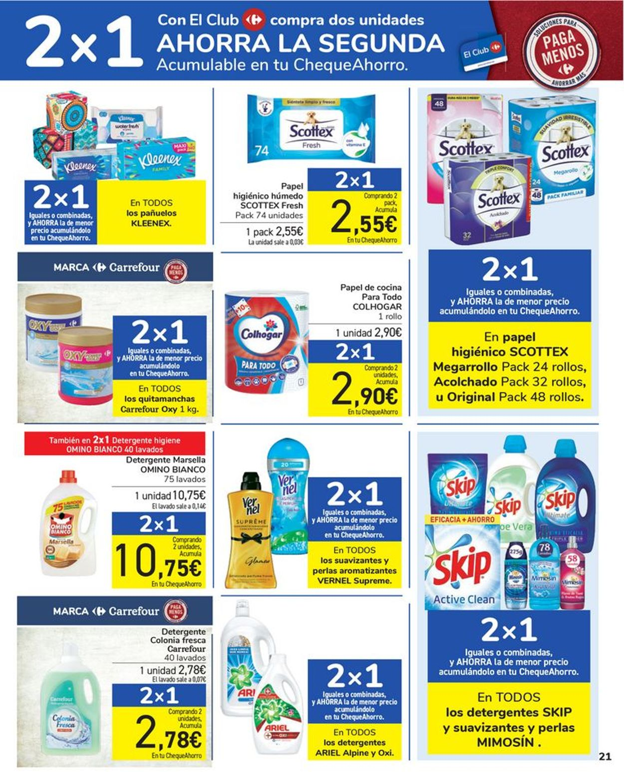 Carrefour Folleto - 24.03-05.04.2021 (Página 21)