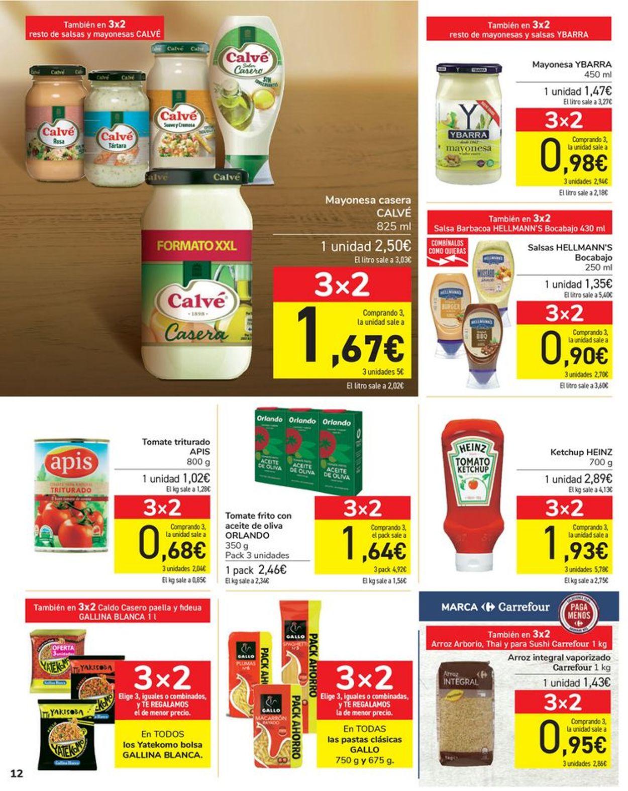 Carrefour Folleto - 06.04-15.04.2021 (Página 12)