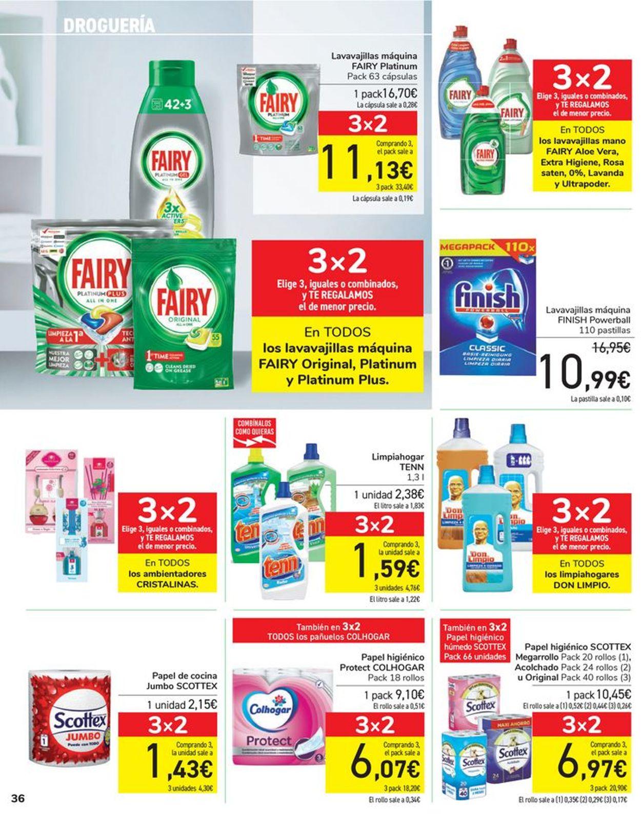 Carrefour Folleto - 06.04-15.04.2021 (Página 36)