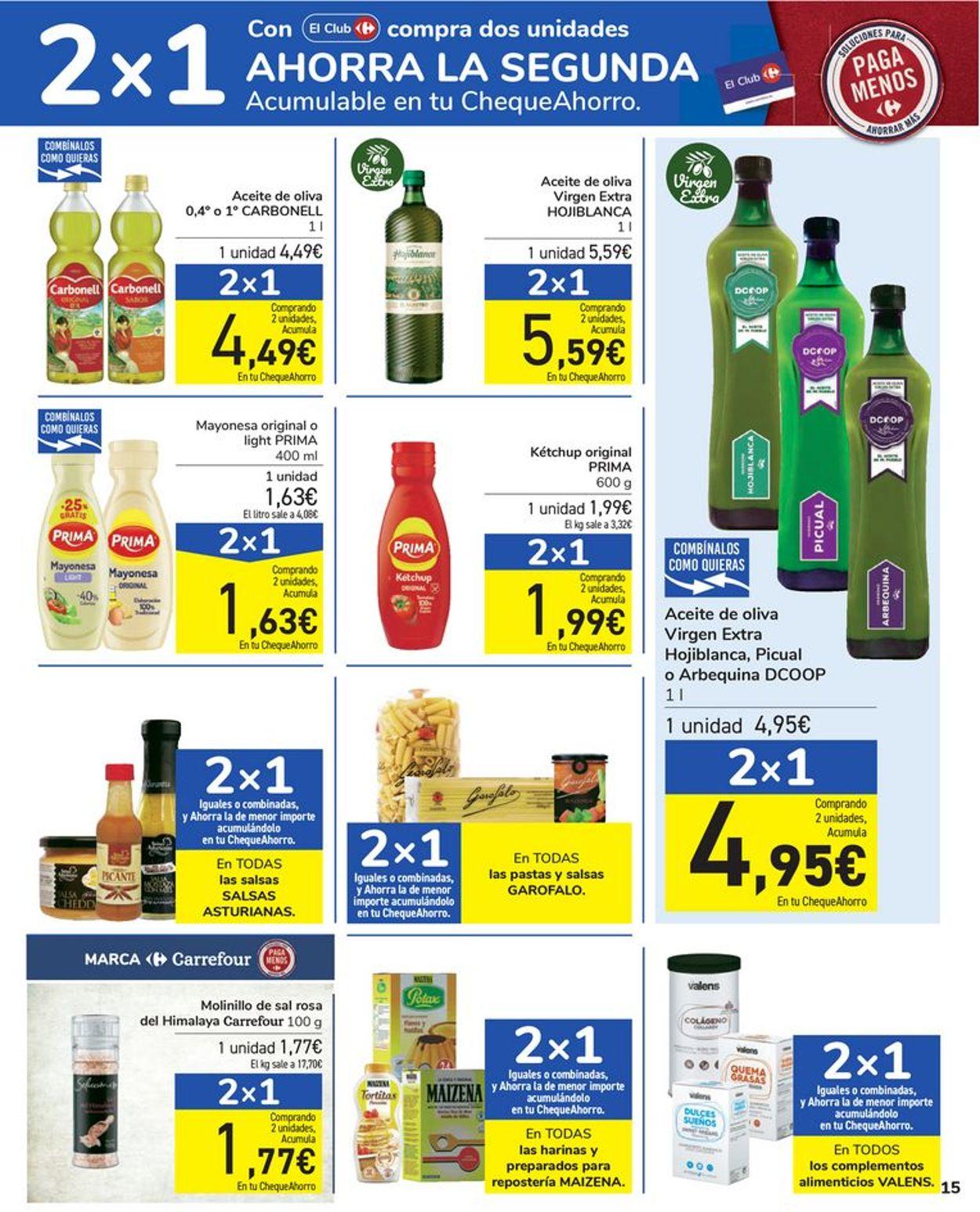 Carrefour Folleto - 06.04-15.04.2021 (Página 15)