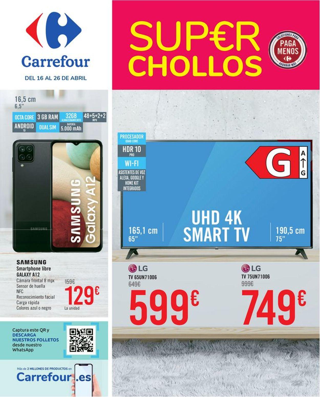 Carrefour Super Chollos Folleto - 16.04-26.04.2021