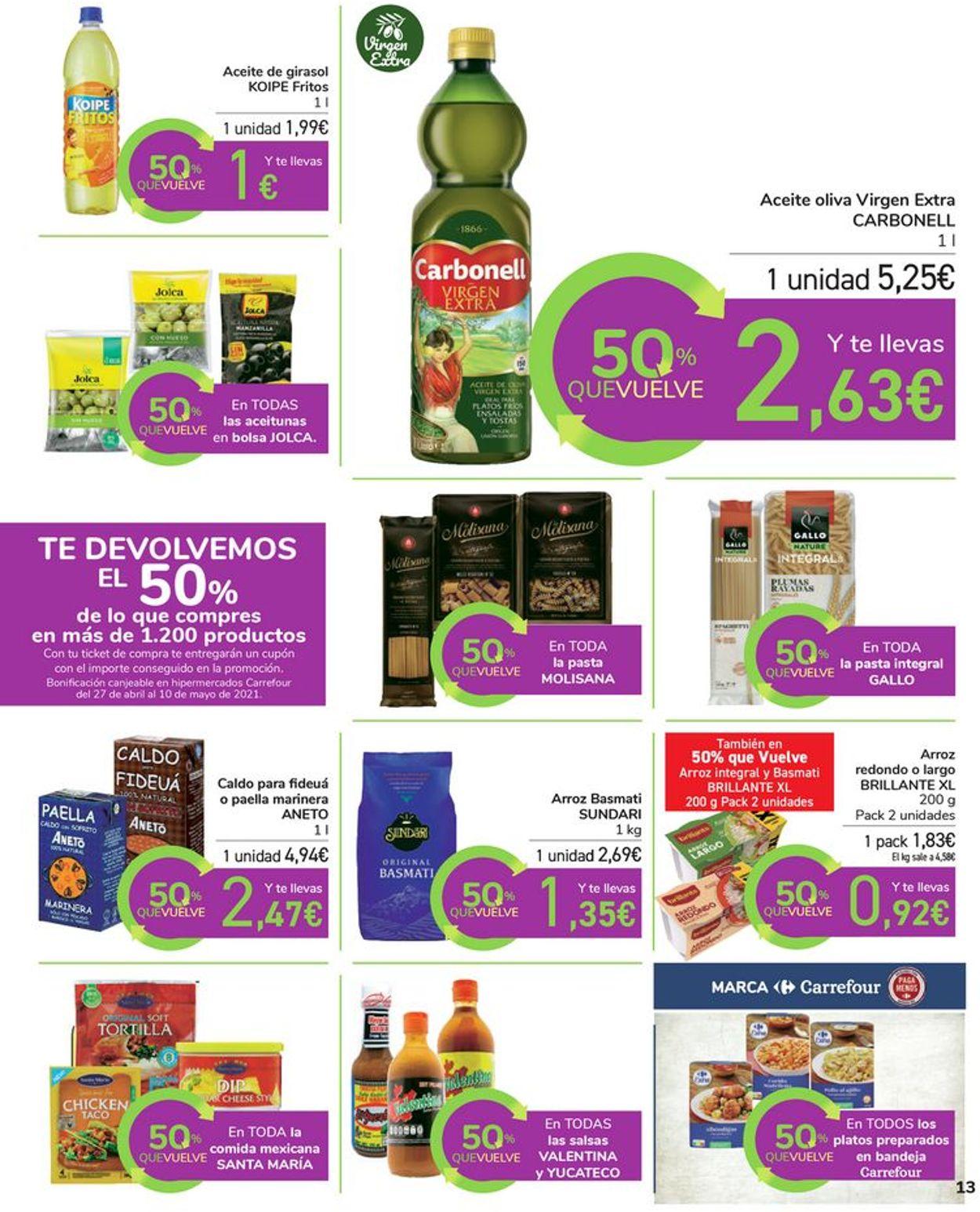 Carrefour Folleto - 16.04-26.04.2021 (Página 13)
