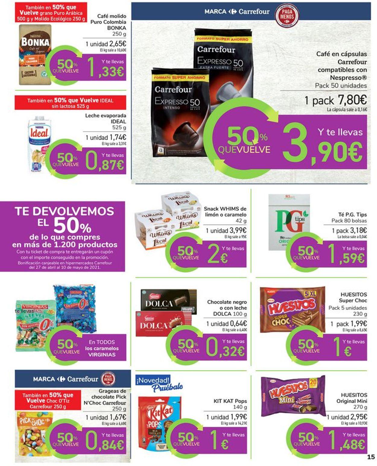 Carrefour Folleto - 16.04-26.04.2021 (Página 15)