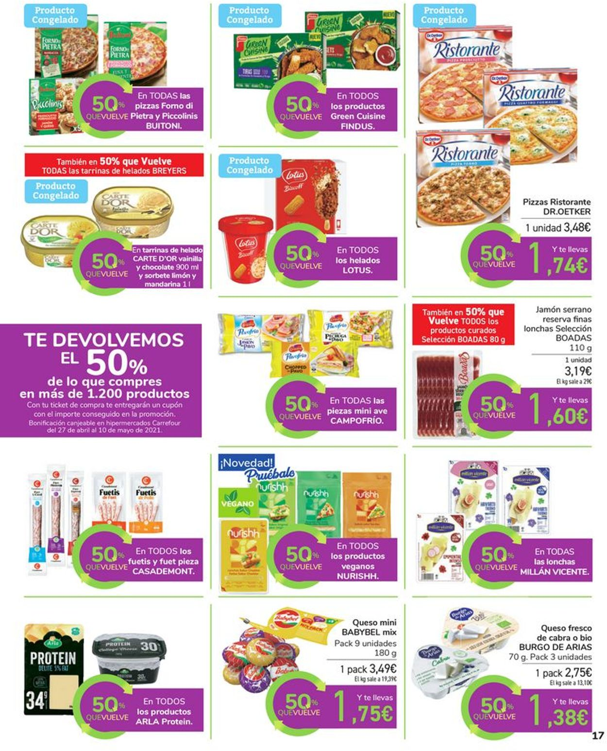 Carrefour Folleto - 16.04-26.04.2021 (Página 17)