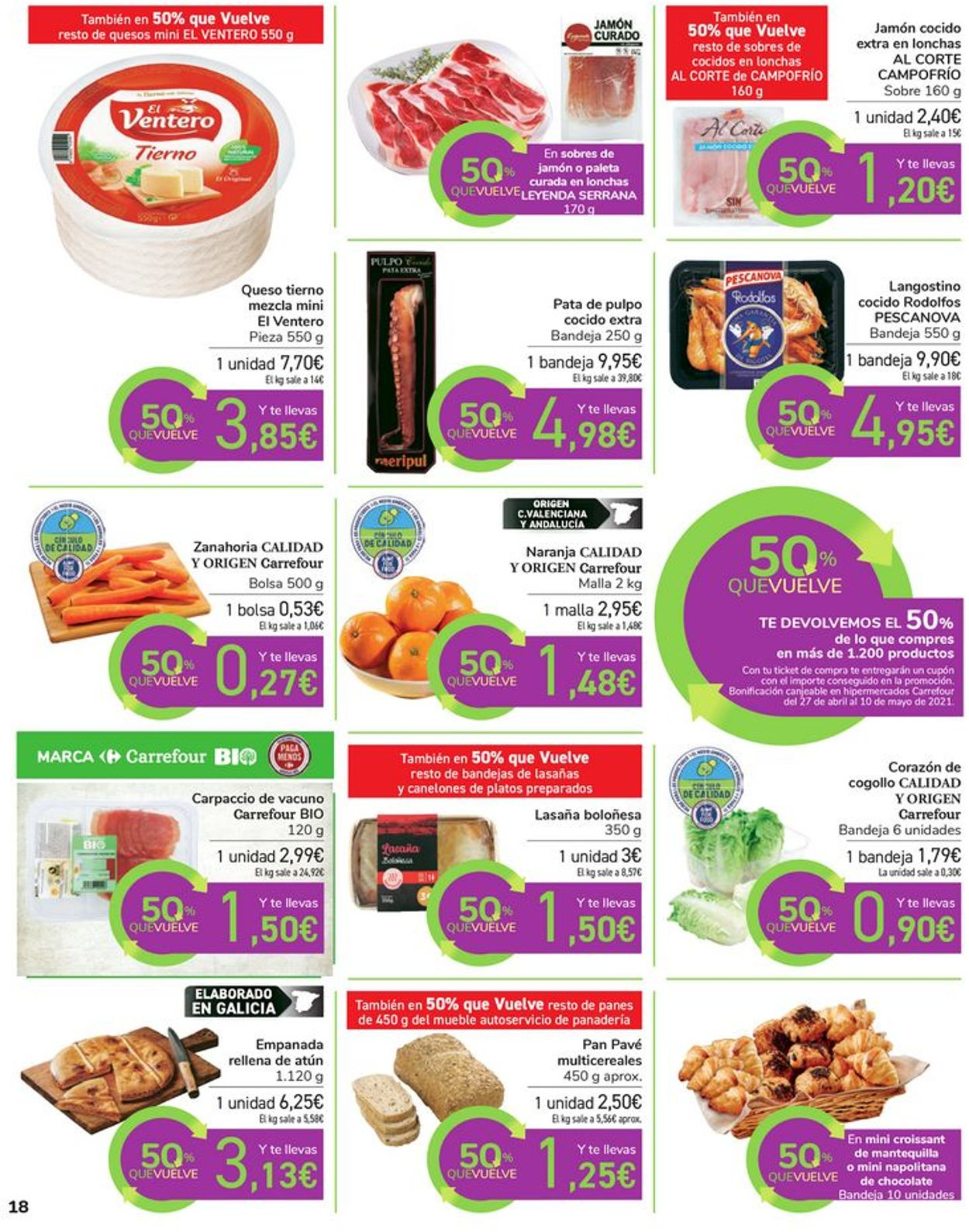 Carrefour Folleto - 16.04-26.04.2021 (Página 18)