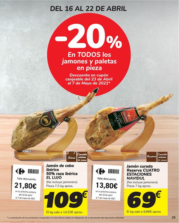 Carrefour Folleto - 16.04-26.04.2021 (Página 25)