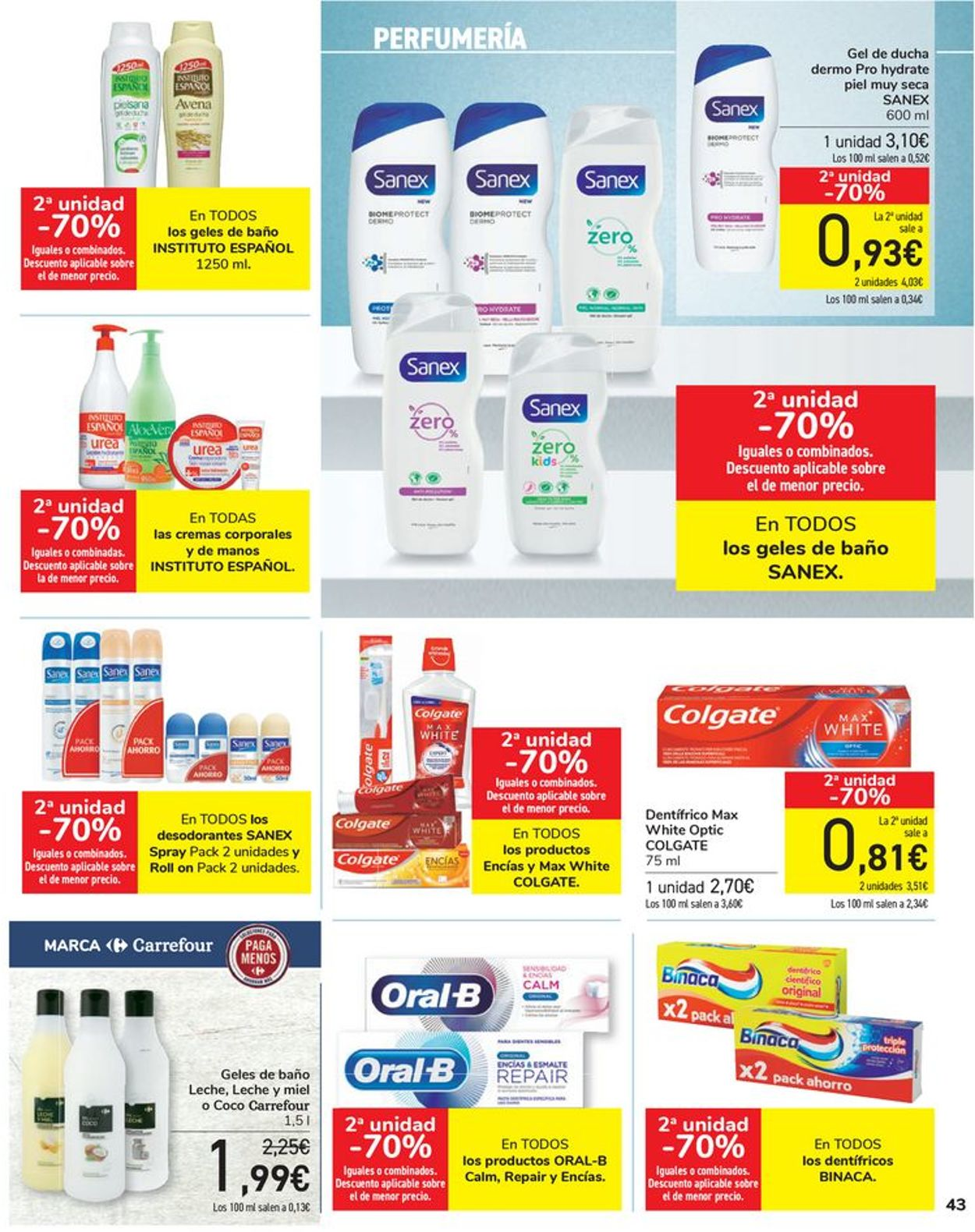 Carrefour Folleto - 16.04-26.04.2021 (Página 43)