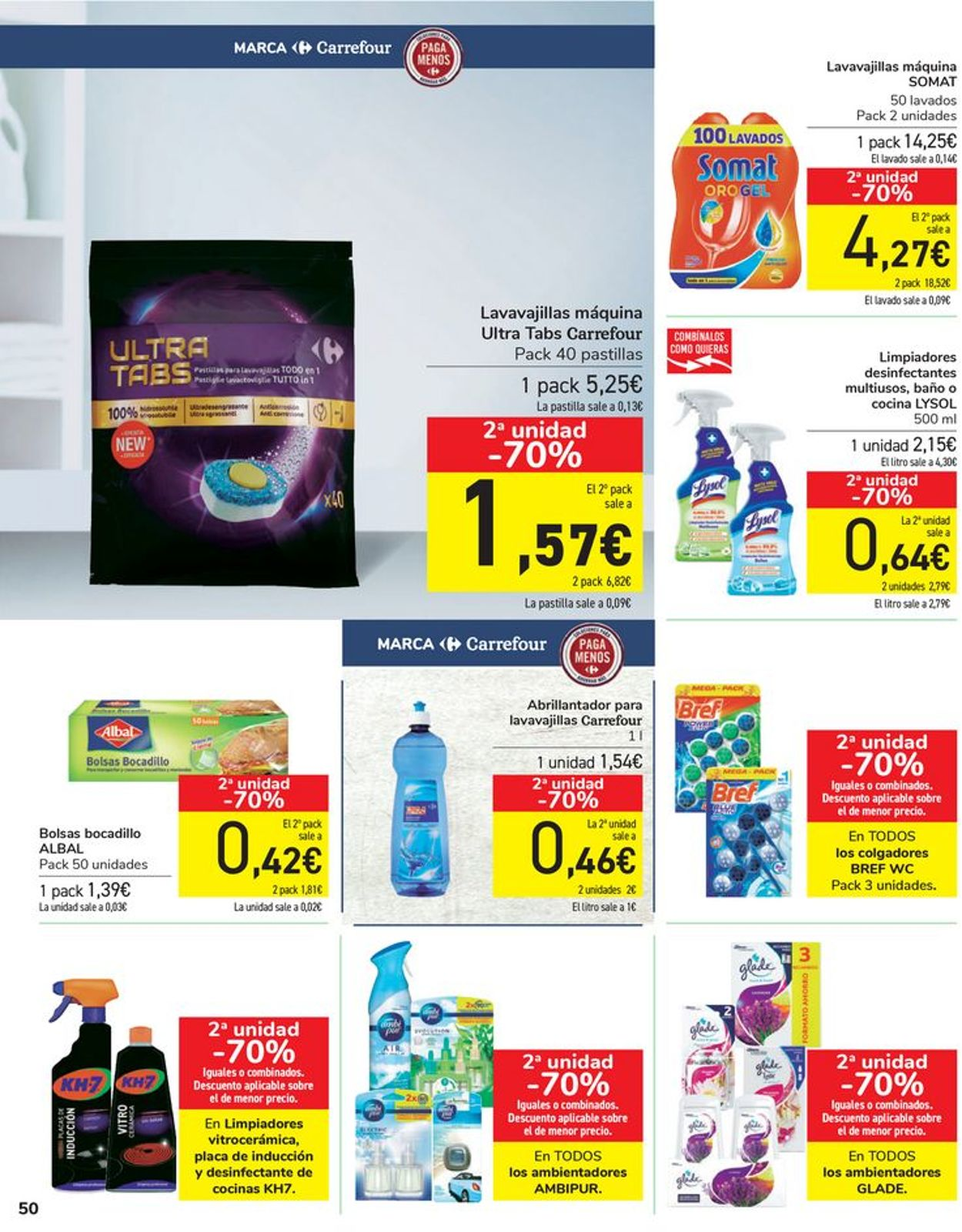 Carrefour Folleto - 16.04-26.04.2021 (Página 50)