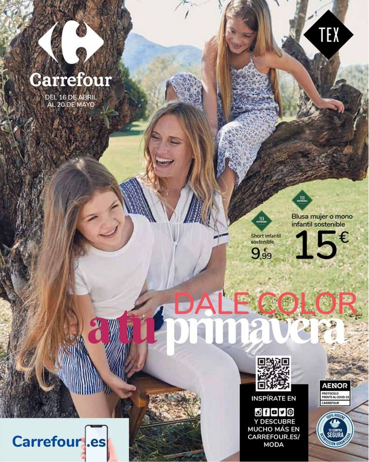 Carrefour Dale color a tu primavera Folleto - 16.04-20.05.2021