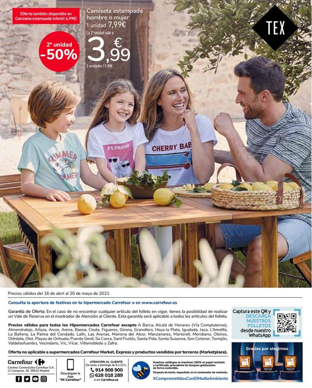 Carrefour Dale color a tu primavera Folleto - 16.04-20.05.2021 (Página 24)