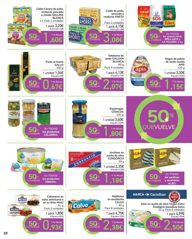 Carrefour 50% que vuelve Folleto - 11.05-24.05.2021 (Página 10)