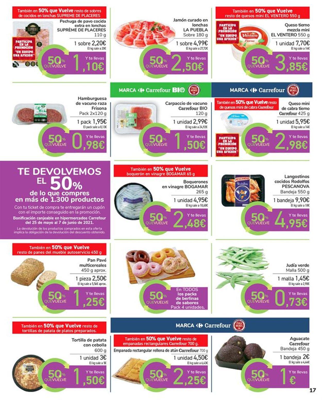 Carrefour 50% que vuelve Folleto - 11.05-24.05.2021 (Página 17)