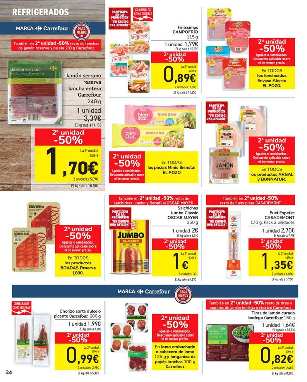 Carrefour 50% que vuelve Folleto - 11.05-24.05.2021 (Página 34)