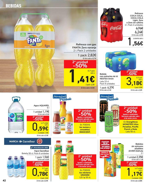 Carrefour 50% que vuelve Folleto - 11.05-24.05.2021 (Página 42)