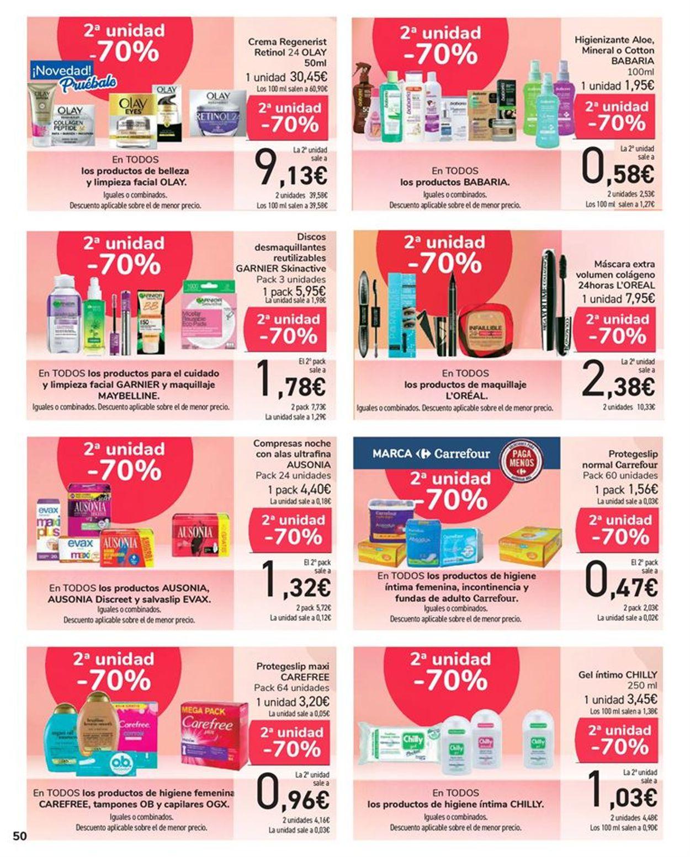 Carrefour 50% que vuelve Folleto - 11.05-24.05.2021 (Página 50)