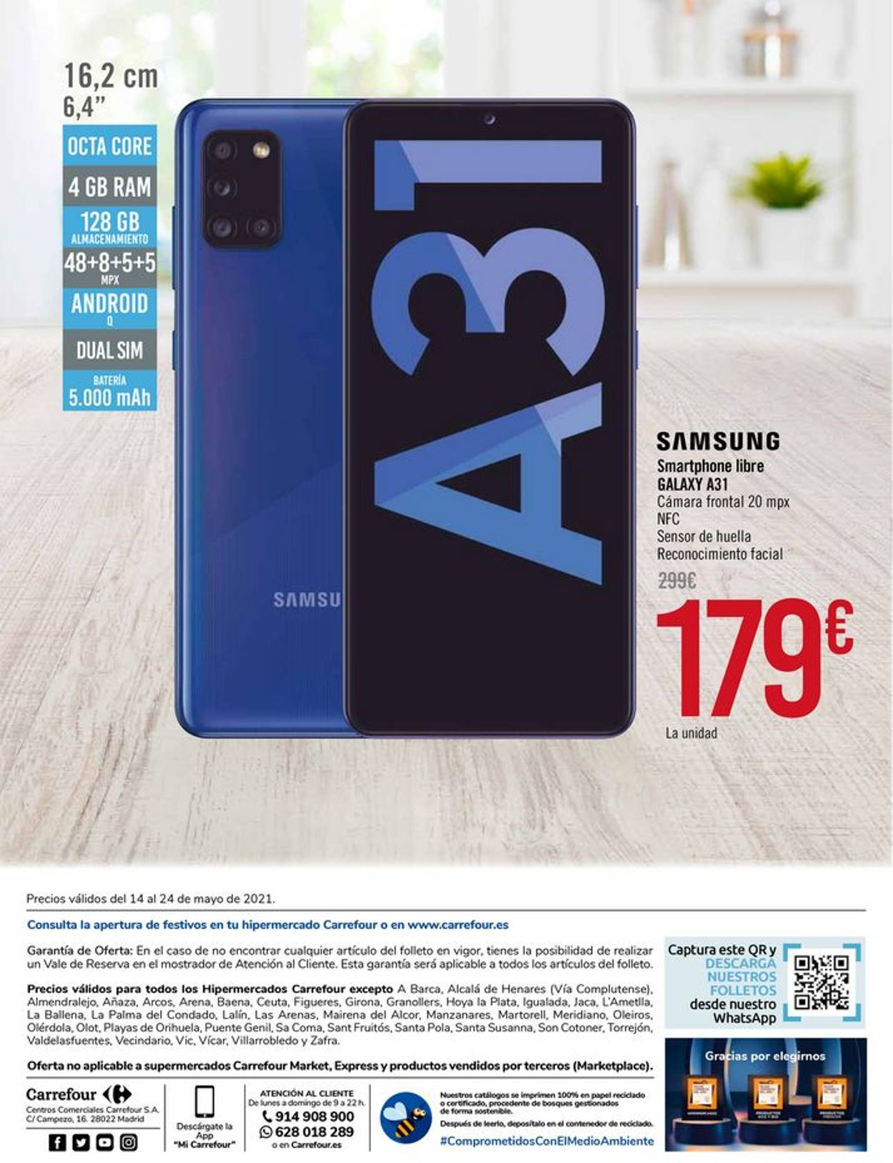 Carrefour Tecnología a tu alcance Folleto - 14.05-24.05.2021 (Página 8)
