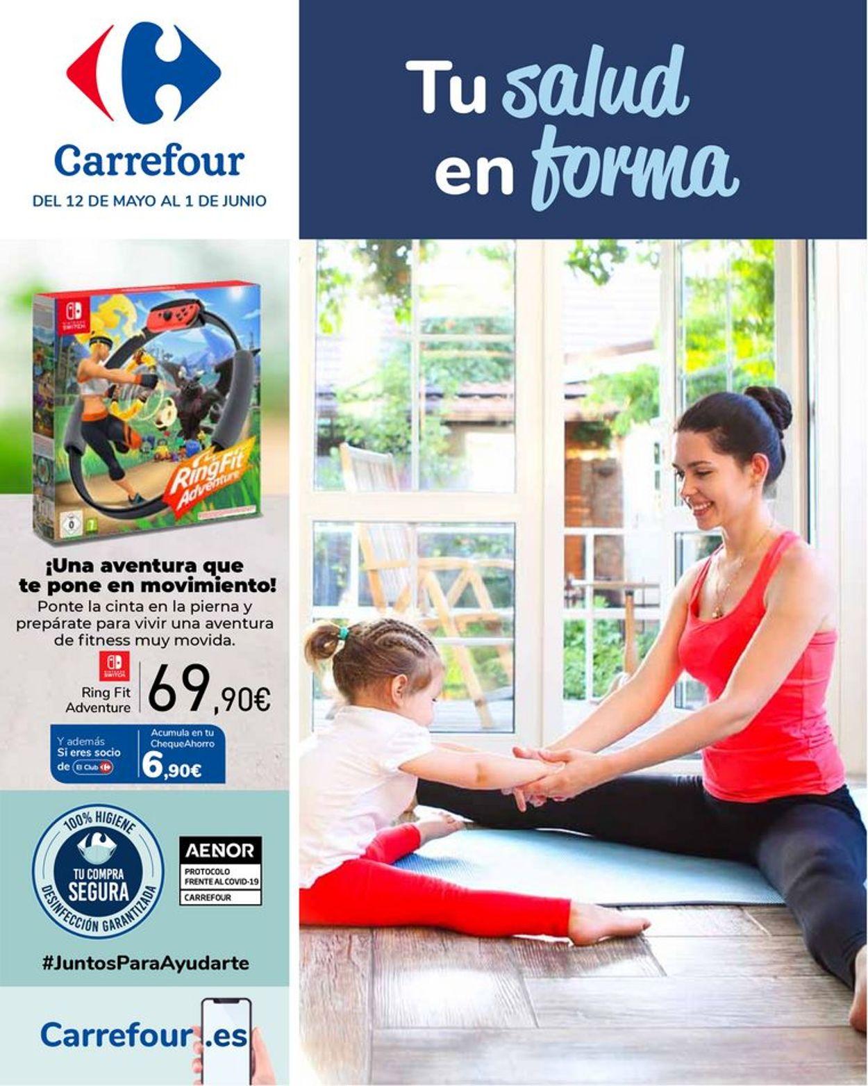 Carrefour Tu salud en forma Folleto - 12.05-01.06.2021