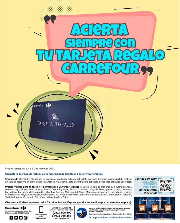 Carrefour Regalos de primera comunión Folleto - 13.05-31.05.2021 (Página 18)