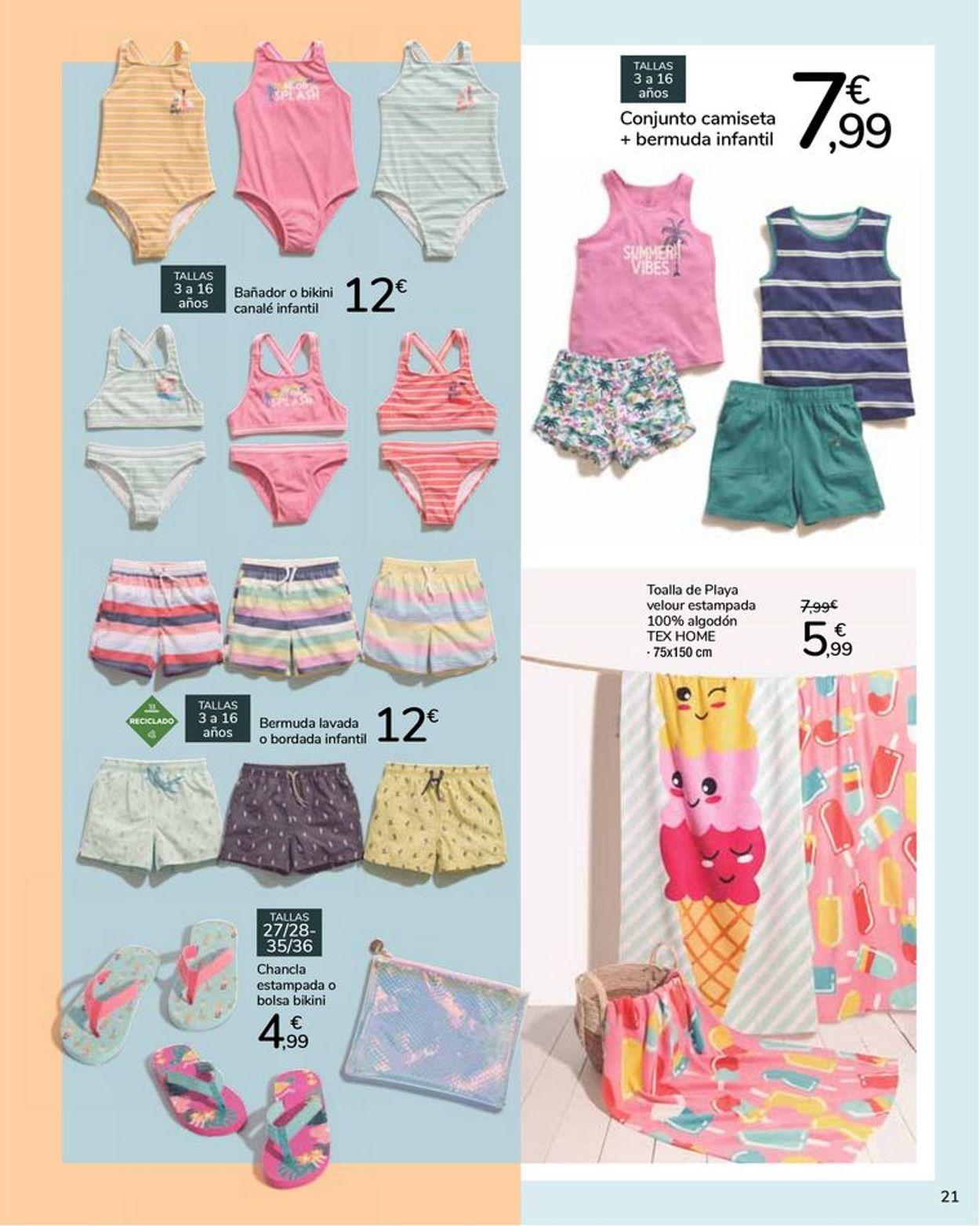 Carrefour Ganísimas de verano Folleto - 21.05-22.06.2021 (Página 21)