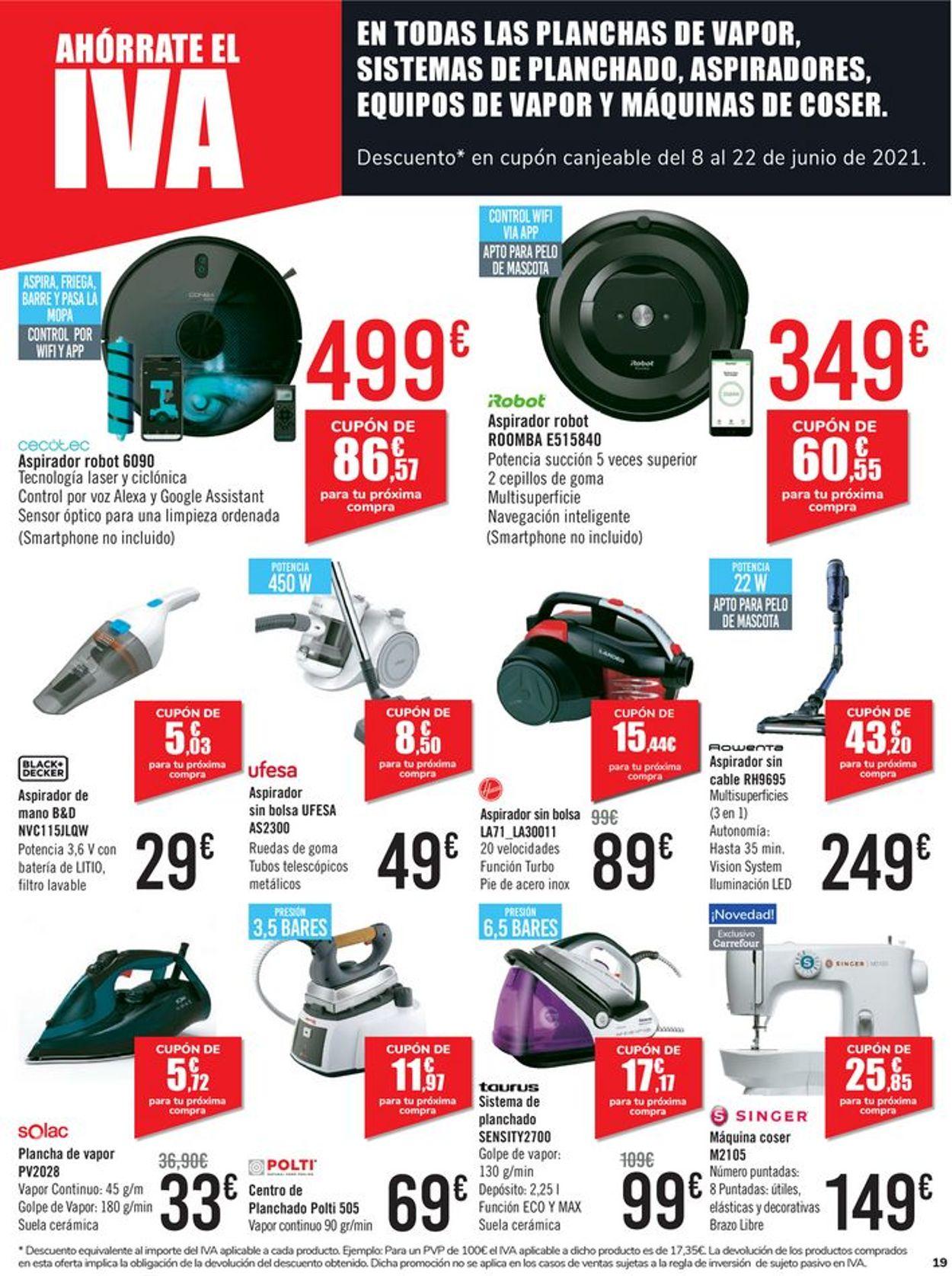 Carrefour Folleto - 01.06-07.06.2021 (Página 19)