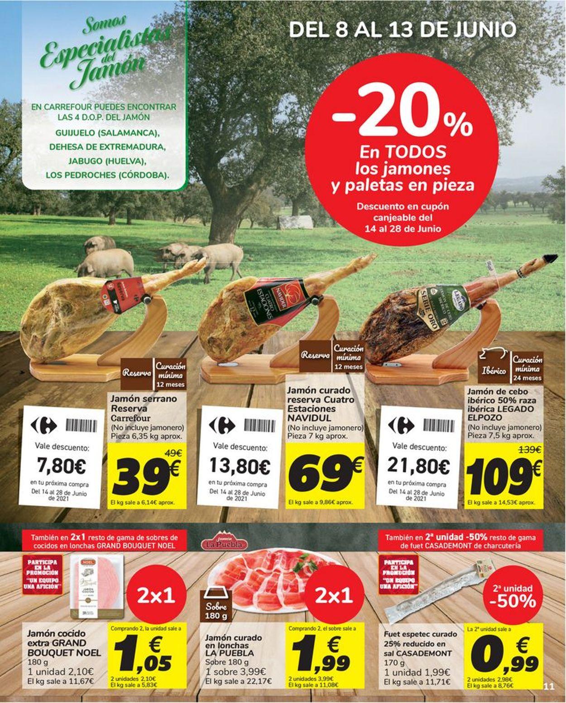Carrefour Folleto - 08.06-16.06.2021 (Página 11)