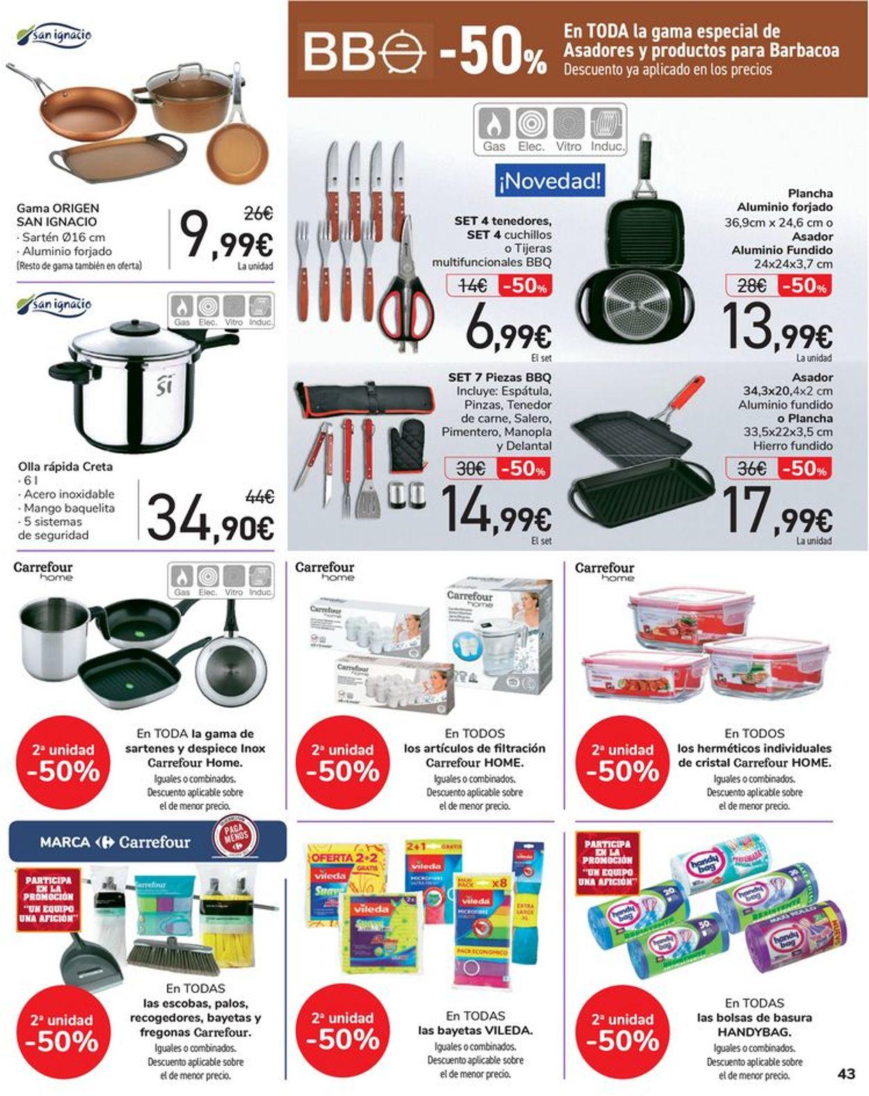 Carrefour Folleto - 08.06-16.06.2021 (Página 43)