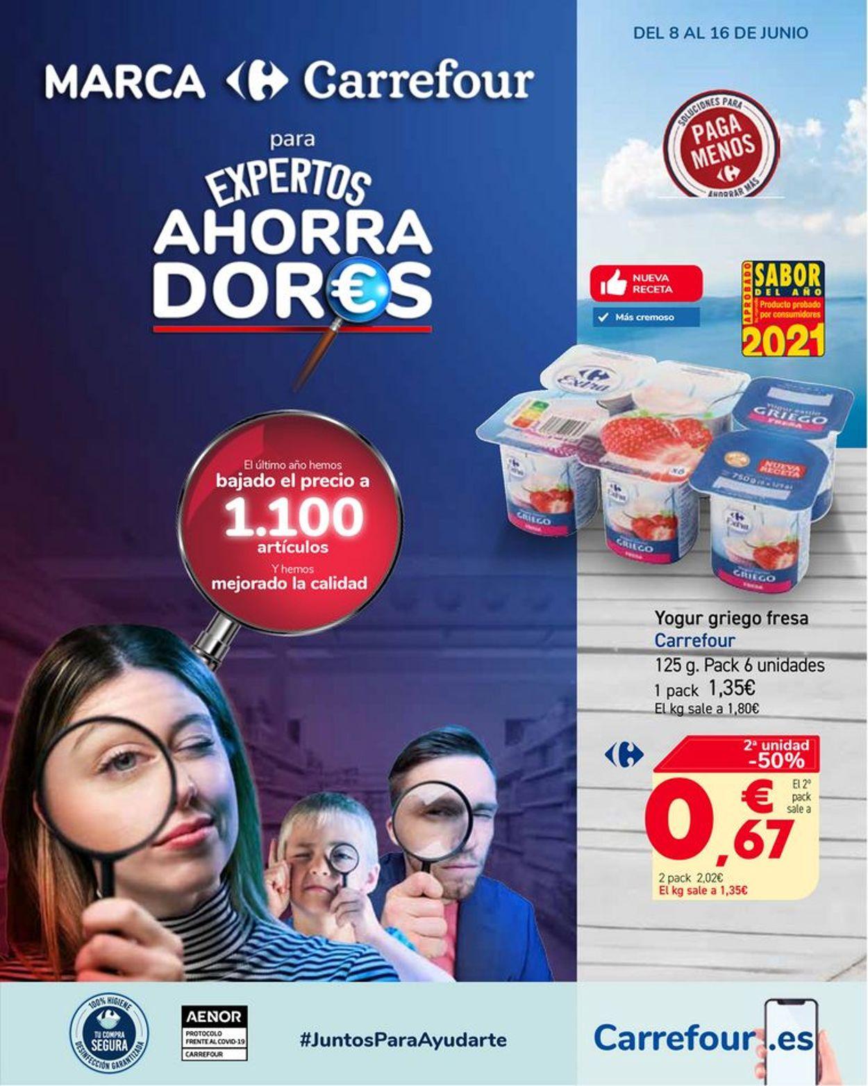 Carrefour Folleto - 08.06-16.06.2021