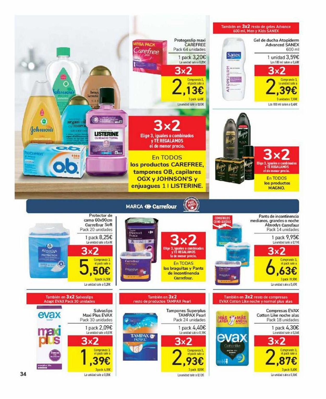 Carrefour Folleto - 17.06-29.06.2021 (Página 34)